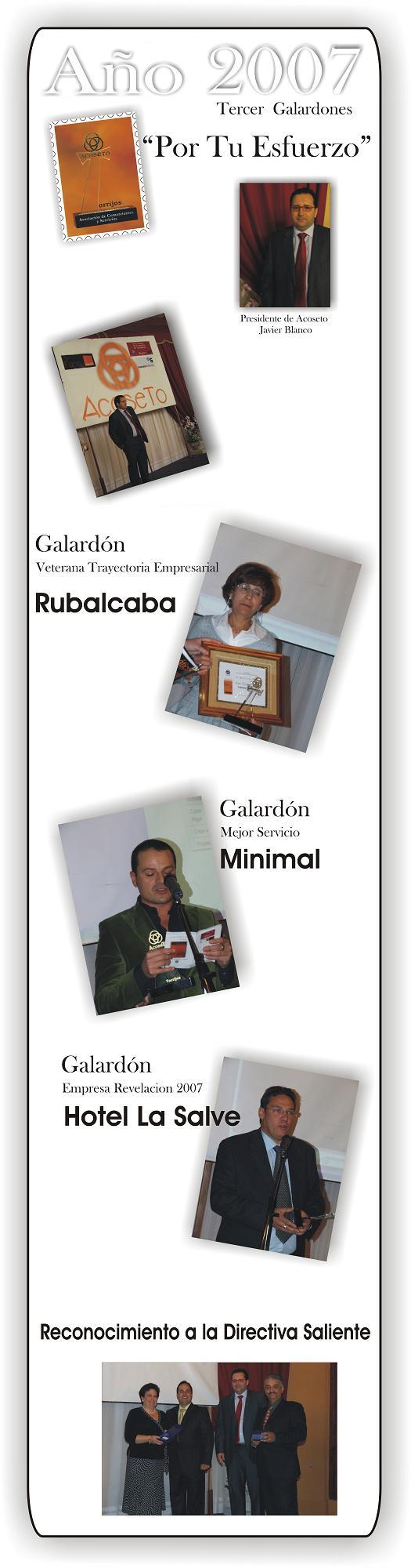 Tercer Galardones 2007