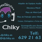Espectáculos DJ Chiky